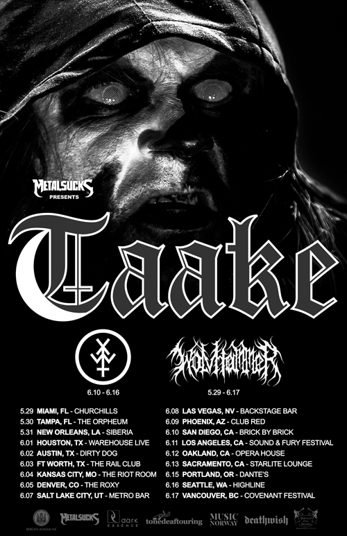 Taake MAY 2016 USA - Web